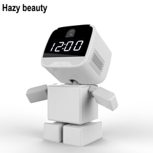 Hazy beauty Wireless Robot 960P IP Camera WIFI Clock Network CCTV HD Baby Monitor Remote Control Home Security Night Vision