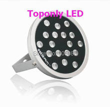 2016 New High Quality DC24v 48w Round prolight 4-in-1 rgbw led wall washer lamp IP65 Outdoor LED Projector Lighting CE&ROHS(China)