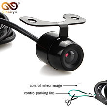 Sinairyu Waterproof CCD Car Vehicle Rearview Front Side View Backup Reversing Camera with or without Mirror Image Convert Line