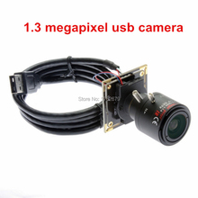 1.3 megapixel 1280 x 960 AR0130 senor HD usb web camera module with 2.8-12mm varifocal lens IR cut