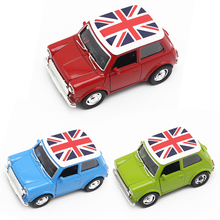 Toy Cars For Boys Mini Cooper Alloy Car Baby Kids Toys For Children Scale Models Pull Back Toys Boy Brinquedos Juguetes 2016 New(China)