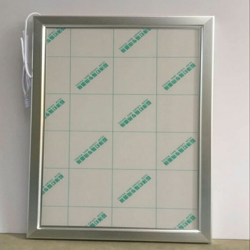 A4 Single Side Silver Aluminum Clip Poster Frame LED Light Boxes for Hotel,Restaurant,Museum,Theather etc<br>