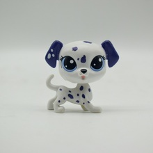 LPS Toy Shop Sparkle Eyes Spotty dog Action Figure animal Toys for Children Birthday Gift(China)