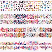 Hot Women Nail Art Nial Sticker Halloween Designs Girl Beauty Nail Tools Oct 10(China)