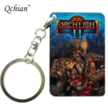 Game Torchlight II Series Printed Car Keychain or HandBag Ornaments Pendant Keyring Pretty Nice Gift Pictures can be Customized