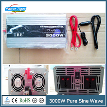 3000W Pure Sine Wave Power Inverter High Quality Car Auto 3kw Power Inverter For Boat House Bazaar Pure Sine Wave With Charger