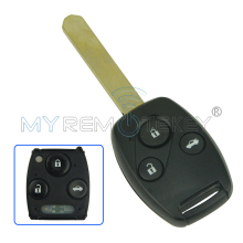 Remote head key VDO 72147-TAO-W2 433Mhz HON66 3 button for Honda Accord 2008 2009 2010 2011 remtekey(China)