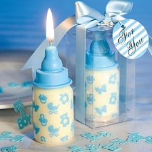 Children's birthday party supplies birthday candles creative one hundred - day milk bottle small candle candle one full year of