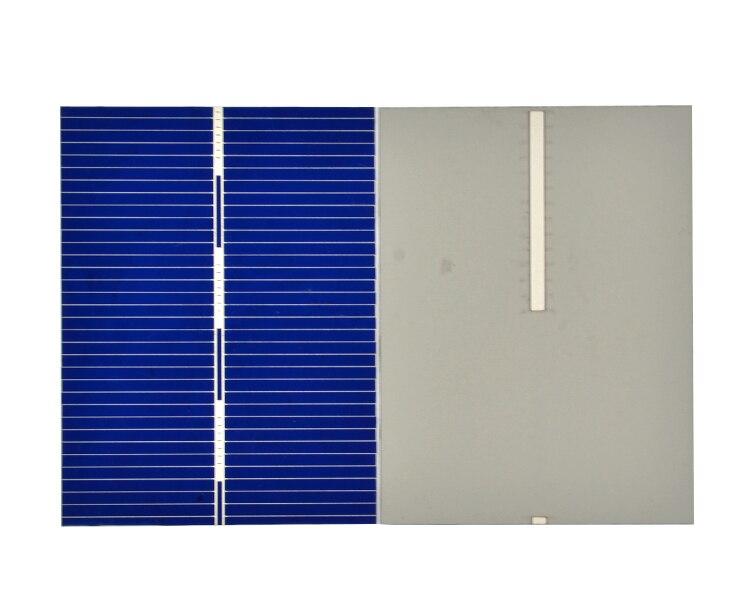 Aoshike 100Pcs 0.5V 0.35W Solar Panel Solar Cell Color Crystal Module Sun Power Bank 39x52MM DIY Solar Battery Charger 6