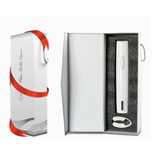 Plastic White Wine Red Wine Beer Bottle Opener White Dry Battery Electric Opener, White Paper Cutter Set With Gift Box BPA Free