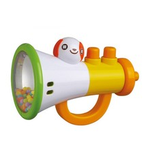 Cartoon Trumpet Design Rattles Baby Toy Sounding Toys Brand Auby Gifts for Baby Rattle & Mobile(China)