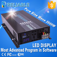 CE/EMC LED Display Off Grid 3500W Full Power True Pure Sine Wave Solar Power Inverter DC To AC Converter Household Power Supply(China)