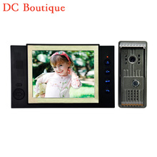(1 set) Latest Video intercom Smart Home system 8 Inch panel HD night version Video door phone waterproof camera Door bell