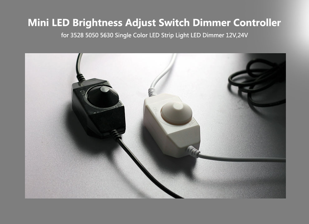 Single Color LED Strip Dimming (8)