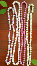 New Fashion Free shipping KL36177 50pcs /lot 140cm L Silk Rosebud Lei   10 colors mixed  Hawaii party Beach Parties