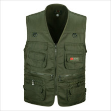 New Hyweacvar Men's Pro Multi Functional Work Vest Multi-Pocket Filming Photographer Vest XL-3XL(China)