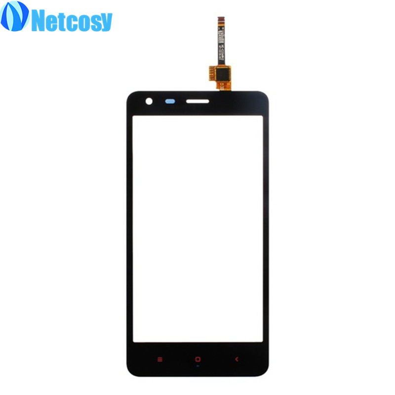 Netcosy Touch Screen Digitizer Front Touch Panel Glass Lens for Xiaomi Redmi 2 TouchScreen Replacement Repair Accessories +Tool