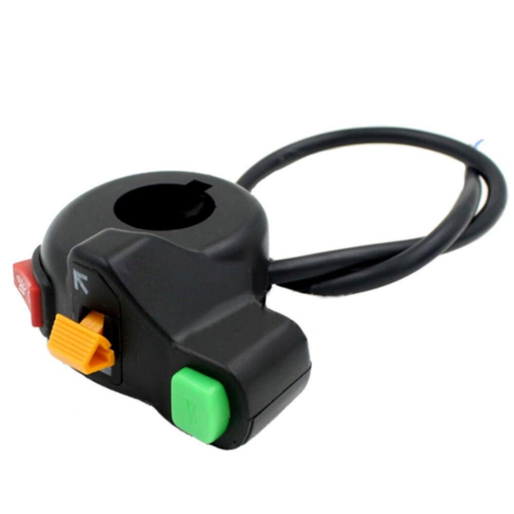Saklar Motor Stang Jajabor Kabut Cahaya Beralih On Off Tombol 12vdc Lampu Sepeda Universal Switch Atv 7 8 Inch Pada Hazard Bunuh Berhenti