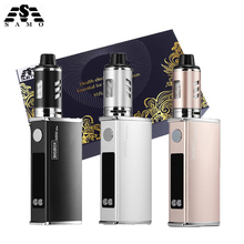 Buy Original mini 80w kit electronic cigarette kit LED display Built-in 2200mah battery liquid 80W vape pen vaporizer box mod kit for $22.50 in AliExpress store