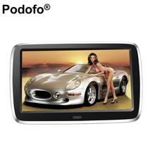Ultra-thin 9 inch 1024*600 High-definition Display MP5 Car Headrest TV Monitor USB SD KTV Music DVD Player TFT LCD Screen