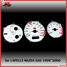 DASH EL Glow Gauge for Mazda 626 Capella 1999 2000 Full Glow Blue Green interchange(Taiwan,China)