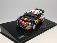 ixo 1:43 CITROEN DS3 WRC #1 Winner Rally de France 2012 Loeb Elena RAM517