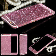 Bling Sticker Case For Apple iPhone 6 6s phone cases case cover Full Body Decal Skin StickerS Phone Cover coque For iPhone 6 6S