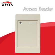 Waterproof 125KHz RFID Contactless Smart Proximity Card Reader Access Control Weigand IP65 EM ID