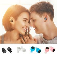 New X1T Mini Invisible Twins Wireless Bluetooth V4.2 Stereo Surround Sound Double Dual Earphone HIFI Stereo for iPhone/Android