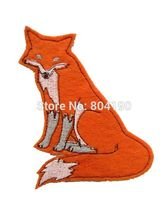 "4"" Orange Fox BIG Film TV MOVIE NEW Lovely Cartoon Girl dress Boy t-shirt kids children Embroideried Patch Logo Badge"