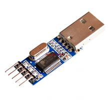 50pcs/lot PL2303HX USB to TTL / USB-TTL / STC microcontroller programming module / PL2303 nine of the upgrade board