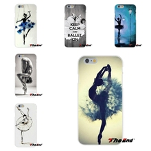 For Samsung Galaxy A3 A5 A7 J1 J2 J3 J5 J7 2015 2016 2017 Cool Elegant Ballet Girl Art Print Silicone Soft Phone Case