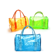 Chuwanglin fashion Transparent jelly Cosmetic Cases bag letter make-up tasjes cute cosmetic bag women makeup bag cosmetic bag
