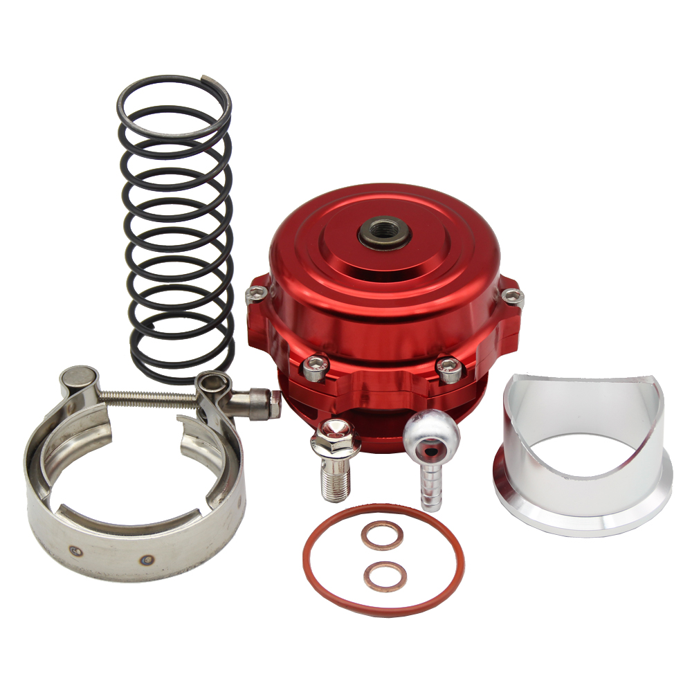 Red Turbo Intercooler BOV Blow Off Valve Aluminum Alloy 50mm Universal For Audi VW <br><br>Aliexpress