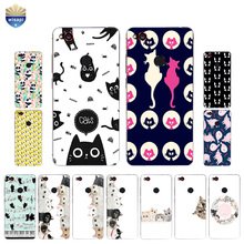 Phone Case ZTE Nubia Z9 MAX Nubia Z11 / Z11 Mini MAX Cover Nubia Z11 MiniS Shell Soft TPU Cats Family Design Painted
