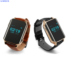 New Fashion Watch GSM GPS Locator Tracker Rastreador Tracking person Elder Heart Rate Real Time SOS Free APP Track Alarm Device
