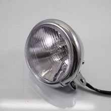Motorcycle Head Light Headlight Lamp For Harley Bobber Chopper Cruiser Custom