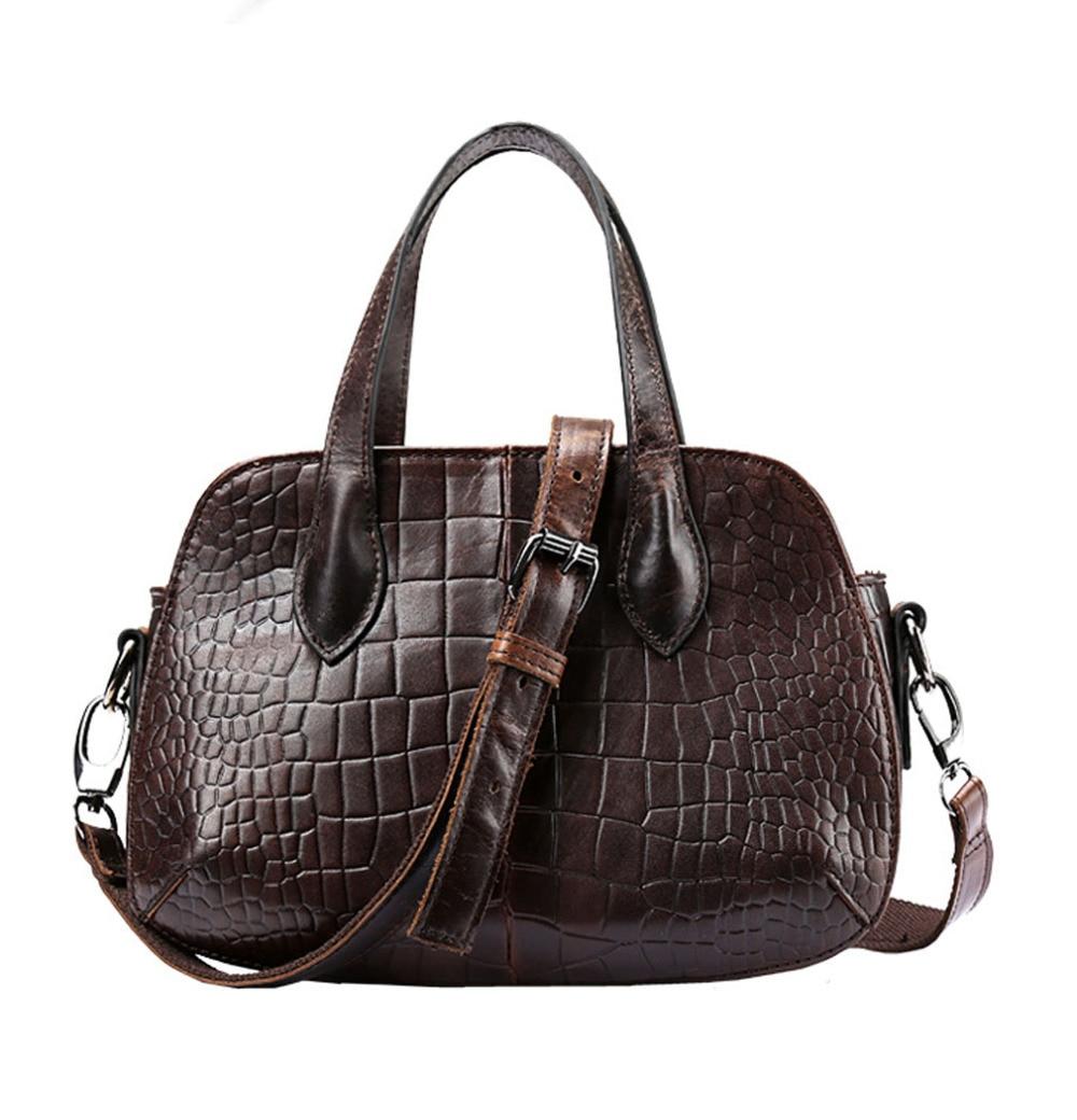 Ladies Fashion Vintage Genuine Leather  Cowhide Handbag Messenger Shoulder Pack Cross Body Luxury Trend Bag wallet Handbag<br>