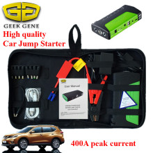 Sales promotion Multi-fuction Portable 12V Emergency car battery Auto Jump Starter Power bank for phone Pad laptops Mini(China)