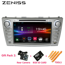 Free Shipping 2din Android Car DVD for TOYOTA CAMRY Aurion CAR DVD CAMRY v40 GPS CAR RADIO DVD Navigation 1024*600 2DIN Car dvd