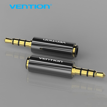 Vention Earphone Headphone Connector OMTP to CTIA Converter Aux Adapter jack 3.5mm Audio Adapter for samsung iPhone HTC Nokia(China)