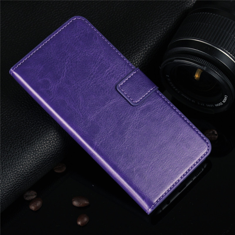 Case Leather Flip Wallet Cover for Samsung Galaxy S8 Plus S6 S7 Edge