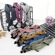 100CM New Fashion Baby Cotton Scarf Children Triangle Scarves Autumn Winter Kids Soft Sweatbands Multifunctional Scarf as1(China)