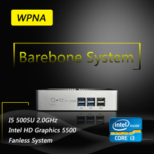 WPNA Computer Office Nettop barebone UX830-mini intel core i3 5005U HD Graphics 5500 HDMI WIFI  mini pc windows All In One