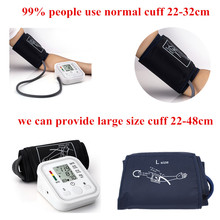 Large 48 cm fuff Portable Arm Blood Pressure Monitor Digital Upper Blood Pressure Monitor Meter Health care Monitors(China)