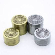 Hot New 40mm 3 4 layers Metal Zinc Alloy Chinese Grinder Spice Herbal Smoking Crusher Hookah Pipe Hand Muller Tobacco Grinder