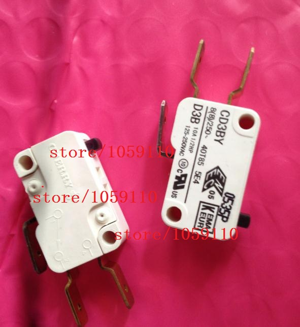 1PCS D3B 3 foot button switch genuine original gold-plated foot CD3BY micro switch<br>