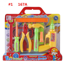 Baby Boys Toy Pretend Play Repair Tools Set Garden Toys Children Pretend Play Set Pliers Screwdriver Early Educational Toy(China)