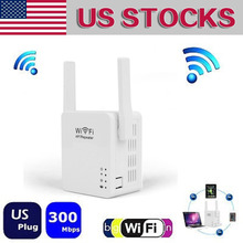 Mini Wifi Repeater 300Mbps Wireless Network Repeater Wi-fi 2dBi Antenna Wi fi Signal Booster Amplifier 802.11b/g/n US Plug