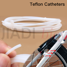 Buy Mountain Road Bike Bicycle Brake Shift Cable Wire Core Protection Sleeve Bushing Teflon Catheters Lubricating MTB Accessorie